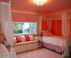 Girls' shared bedroom