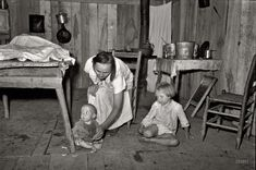 1938, home of sharecroppers, Missouri. A reminder of how blessed we are.