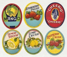 Great labels from Knick of Time printables........and there are more