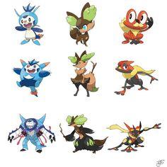 starter power split part 12 Pokemon Fusion Art, Pokemon Fan Art, Oc Pokemon, Pokemon Fake, Pokemon Pins, Pokemon Funny, Pokemon Memes, Pokemon Stuff, Pokemon Chart