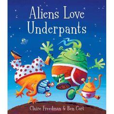 Aliens Love Underspants