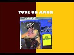 TUVE UN AMOR - Anibal Velasquez Y Su Conjunto. - YouTube Youtube, Baseball Cards, Amor, December, Dancing, Youtubers, Youtube Movies