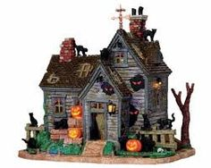 lemax spooky town fire department - Google Search