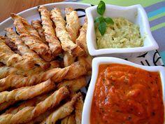 Qchenne-Inspiracje! FIT blog o zdrowym stylu życia i zdrowym odżywianiu. Kaloryczność potraw. : Grissini z guacamole i sosem z pieczonej papryki. ...