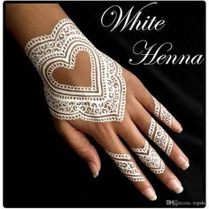 4 White Golecha Henna Cones Body Paint Cone Temporary Tattoo Ink Kit for sale online Maori Tattoo Designs, Mehndi Designs, Art Designs, Golecha Henna, Temporary Tattoo Ink, Party Tattoos, Henna Cones, White Henna, Marquesan Tattoos