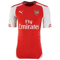 d72a87751 14-15 Arsenal Home Soccer Jersey Shirt Arsenal Club