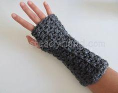 Abigail Adult Fingerless Gloves Crochet Pattern