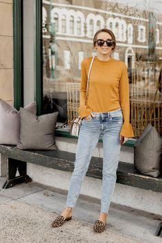 mom jeans and leopard loafers   merricksart.com