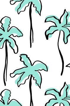 Pastel Palm, patterns by Caroline Cupcake. by Caroline Cupcake, via Behance #SS15 #SS16 #tropical #palm #pattern #print #pastel #pastelpalm #textile #design #mint #palmtrees #trees #shade #beach #fashion