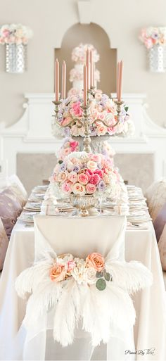 Caviar Affairs... Wedding ● Tablescape & Reception Décor