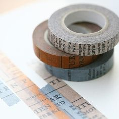the coolest tape ever!