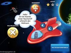 Weltraum Methematik | iPad iPhone Kinder Apps