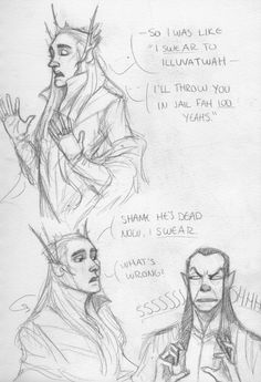 """gandalfwho: """"gandalfwho: """"Don't swear/make oaths around Elrond it's his biggest pet peeve!!! ( @nelyafinwes cuz we were literally saying this earlier today lol) """" finally scanned this shit """""""