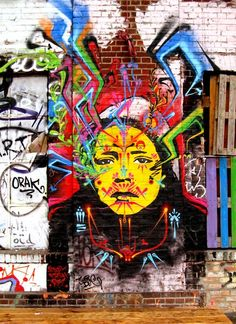 Stinkfish is a street artist from Bogotá, Colombia who is best known for creating massive, psychedelic murals based on his snapshots of local people he encounters.
