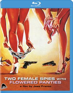 two female spies with flowered panties american blu-ray release