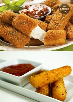 I am in love with these scrumptious mini mozzarella sticks are currently my favorite snack. Try the recipe and start loving these yourself: http://www.theeasierlife.com/articles/mini-mozzarella-sticks/