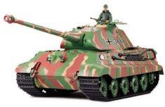 Heng Long RC Panzer Deutscher Königstiger, 1:16, Rauch, Sound, Metallgetriebe