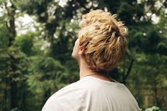 Image de boy, blonde, and hair
