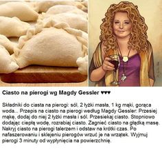 Najlepsze ciasto na pierogi wg Magdy Gessler!!! Baby Food Recipes, Snack Recipes, Cooking Recipes, Good Food, Yummy Food, Brunch, Big Meals, Polish Recipes, Food Design
