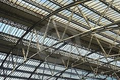 Estructura de la estación del tren