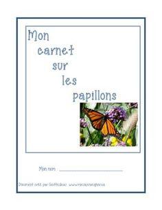 ce carnet de bord contient tout ce dont vous avez besoin pour faire llevage papillon cetdiffrentes partiesbelle dame concernantdontchenillesciencesname