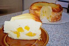 Schlanker Quarkkuchen quark 3 eier. Grieß ohne mehl