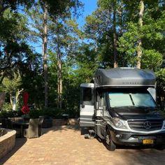 Hilton Head Island Motorcoach Resort - Hilton Head Island, South Carolina - Campground Reviews Best Rv Parks, Bike Path, Shower Cleaner, Hilton Head Island, Rv Life, Campsite, South Carolina, Recreational Vehicles, Camping