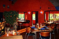 L'Orange Bleue, our Belgian-French restaurant, is located at the foot of the Thaba Pitsi mountain and is housed in a turn-of-the century farmhouse. French Restaurants, Nature Reserve, Lodges, Wines, Orange, Dining Table, Liqueurs, Luxury, South Africa