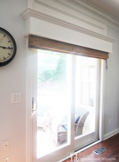 Sliding Glass Door Wood Trim