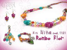 Kit Niña Cod. 1121 Rombo Flor