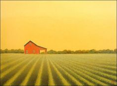 Landscape Paintings of the American Midwest by Sharon France