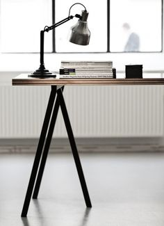 D.I.Y. Inspiration ; This Sleek Looking Piece Is Priced @ 998.00, You Could  Easily Utilize New Strong Wood Dowels, Paint Wood Dowel Legs Black Butu2026