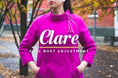 CLARE SEWALONG // FULL BUST ADJUSTMENT & ADJUSTING LENGTH
