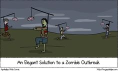 Keep a zombie busy