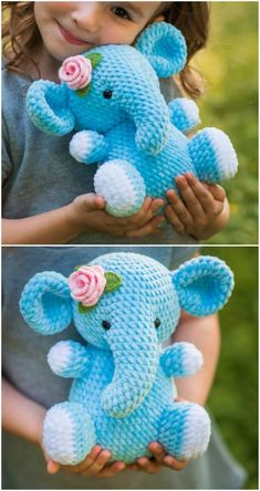 We've rounded up some adorable Crochet Animals Patterns and we know you are going to love them. Check them all out now and Pin your favorites. Crochet Elephant Pattern, Crochet Teddy Bear Pattern, Crochet Octopus, Giraffe Pattern, Crochet Mouse, Crochet Unicorn, Crochet Animal Patterns, Crochet Patterns Amigurumi, Cute Crochet