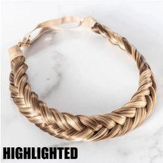 Bohemian Easy-Wear Hairbands – Nalai & Co My Hairstyle, Braided Hairstyles, Braid Styles, Short Hair Styles, Festival Braid, Light Brown Highlights, Two Braids, Crown Braids, Wedding Braids