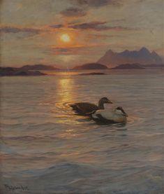 Thorolf Holmboe Aftenstemning Nordland