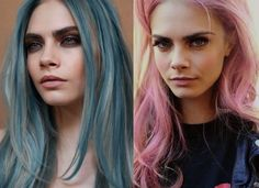 How Rose Quartz & Serenity, Pantone's Colors of the Year, Will Inspire Hair Trends