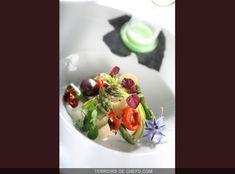 Recette chef Eric Guerin burrata asperges