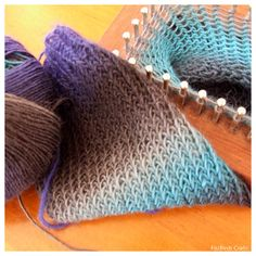 Heaps of loom knitting ideas to get to started from FitzBirch Crafts