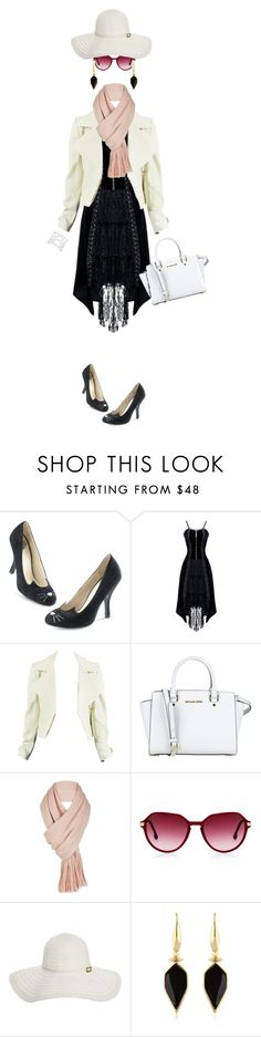 """""""Invisible Woman"""" by ihpixel ❤ liked on Polyvore featuring MICHAEL Michael Kors, Free People, Melissa Odabash, Isabel Marant and Vince Camuto"""