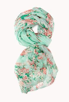 Floral Fantasy Woven Scarf   FOREVER21 - 1000111946 #ForeverHoliday I love scarfs, it can change an outfit