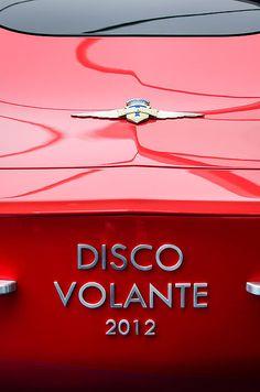 Alfa Romeo Images by Jill Reger - Images of Alfa Romeo - 2012 Alfa Romeo Disco Volante Rear Emblem