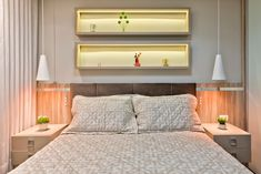 Apartamento es quartos modernos por luciana ribeiro arquitetura moderno | homify Furniture, Home Decor, Modern Bedrooms, Modern Architecture, Design Ideas, Beige, Log Projects, Decoration Home, Room Decor