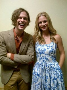aj cook and matthew gray gubler from criminal minds