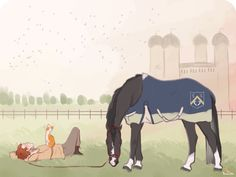 Well deserved rest AEC by TerracottaVulture خيل و أصدقاء Play Horse, Horse Art, Ride Drawing, Star Stable Horses, Drawing Stars, Horse Illustration, Pretty Drawings, Horse Quotes, Horse Drawings