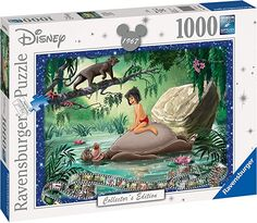 Amazon.com: Ravensburger Disney Collector's Edition Jungle Book 1000 Piece Jigsaw Puzzle for Adults - Every Piece is Unique, Softclick Technology Means Pieces Fit Together Perfectly: Ravensburger: Toys & Games