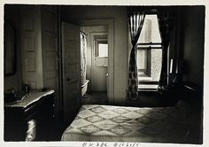 Imagining a life lived in this room.