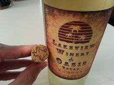 I really dig the corks from Lakeview Winery, plus their #txwine is pretty good too.
