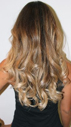 Ombre hair makeover.  I totally want this!  Dana's Before and After